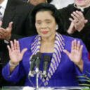 Coretta Scott King married martin luther king in may of was a active civil rights leader. April 27, January, Celebrity Mugshots, Coretta Scott King, Civil Rights Leaders, Historical Women, King Jr, African American History, Martin Luther King
