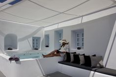 Anemolia Residence is a private villa in Santorini that offers the ultimate Greek holiday experience!