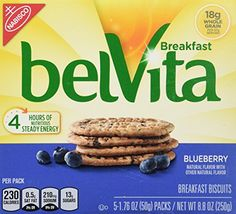 belVita Breakfast Biscuits, Blueberry Breakfast Biscuits, 8.8 oz - http://sleepychef.com/belvita-breakfast-biscuits-blueberry-breakfast-biscuits-8-8-oz/