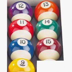 Bille 50,8mm. L'unité au choix n° 9 à n° 15 - 7,00 €  #Jeux