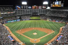 Rangers Ballpark in Arlington -  Feels big...saw my Sox robbed in an 18-inning loss, but we all hung in there...even Willy.