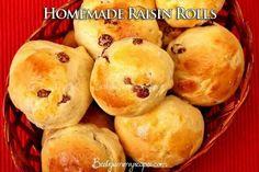 Homemade Raisin Rolls