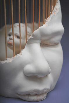 "Johnson Tsang, ""In Me"", Sculpture, Ceramic, 2015."