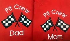Greatstitch Race Car Parents Shirt 1st Birthday by GreatStitch