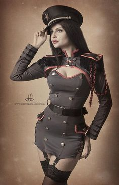 steampunksteampunk:  Military by ~MateaWolfova