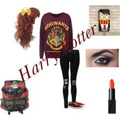 """""""Harry Potter <3"""" by shes-a-janoskian on Polyvore"""