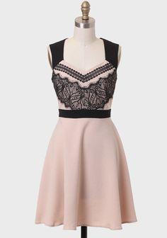 Place Royale Lace Detail Dress