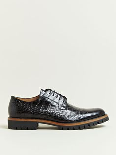 395a056029f Dries Van Noten Men s Patterned Leather Oxford Shoes Oxford Shoes Outfit