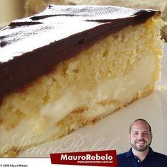 Culinária-Receitas - Mauro Rebelo: Bolo Bomba