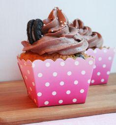 http://partydesign.no #cupcake #muffin #oreo #chocolate #frosting #yum #lovely #partydesign #muffinsformer #cupcakeformer #nettbutikk