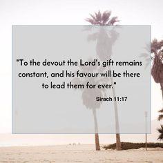 Sirach 11:17