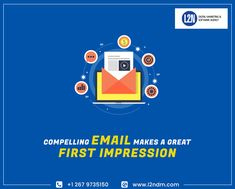 Email campaigns are a large part of Digital Marketing Agency will Write a compelling email subject lines to make a great first impression. Call or Visit us For More Details: Social Media Marketing Business, Email Marketing Services, Marketing Consultant, Seo Services, Content Marketing, Online Marketing, Mobile Web Design, Seo Optimization, Web Design Services