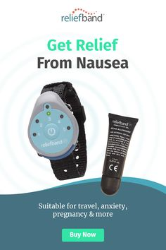Reliefband is clinically proven to relieve nausea and vomiting associated with morning sickness, motion sickness, anxiety, hangovers & more! Nausea Relief, Pain Relief, Chronic Migraines, Chronic Pain, Cidp, Pineapple Health Benefits, How To Relieve Nausea, Motion Sickness, Morning Sickness
