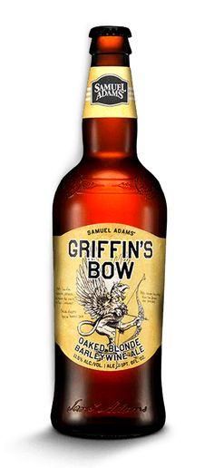 (Griffin's Bow Barley Wine Ale #BarleyWine #SamAdams #CraftBeer