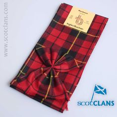 MacQueen Modern Tartan Mini Sash from ScotClans