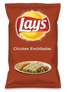 Wouldn't Chicken Enchiladas be yummy as a chip? Lay's Do Us A Flavor is back, and the search is on for the yummiest flavor idea. Create a flavor, choose a chip and you could win $1 million! https://www.dousaflavor.com See Rules.
