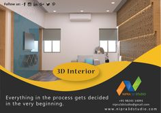 Nipra3DStudio – Everything in the process gets decided in the very beginning. . To know more please visit our website.  #3dinterior,#3dexterior,#3dvisulisation,#3dwalkthrough,#3darchitectural,#likeme,#followme,#3drendering,#3ddesign,#virtualreality,#augmentedreality.