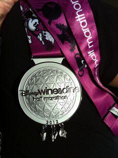 Disney Wine and Dine Half Marathon 2012