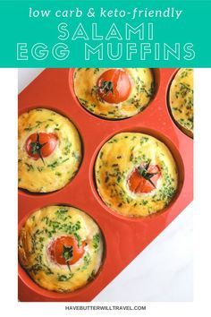 Keto egg muffins are a perfect keto breakfast option. Great for an on the go lunch or breakfast and a perfect addition to the kid's keto lunchbox. Low Carb Keto, Low Carb Recipes, Ketogenic Recipes, Keto Egg Muffins, Lunch To Go, Quick And Easy Breakfast, Breakfast Options, Savoury Dishes, Muffin Recipes