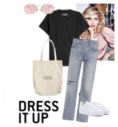"""""""Untitled #9"""" by silje-bjorkelid on Polyvore featuring AMIRI, RE/DONE, LMNT and adidas Originals"""