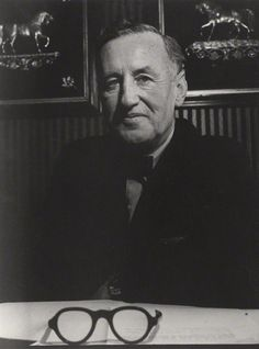 Ian Fleming by Lewis Morley