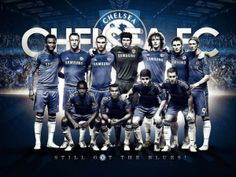 Chelsea Squad Wallpaper 2012-2013