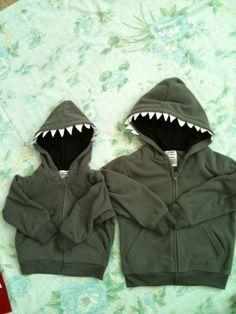 Easy DIY Halloween Costume Shark, Tiger Shark DIY Costume