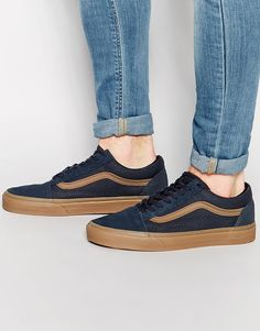 hochzeitsschuhe turnschuhe Trendy Sneakers Image 1 - Vans - Old Skool - Baskets en caoutchouc - - Vans Sneakers, Tenis Vans, Sneakers Mode, Sneakers Workout, Sneaker Outfits, Sneakers Fashion Outfits, Fashion Shoes, Mens Fashion, Guy Fashion