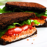 Cheap Healthy Lunch Ideas for Work - EatingWell- salmon salad sandwich Salmon Recipes, Fish Recipes, Lunch Recipes, Seafood Recipes, Cooking Recipes, Healthy Recipes, Picnic Recipes, Picnic Foods, Sandwich Recipes