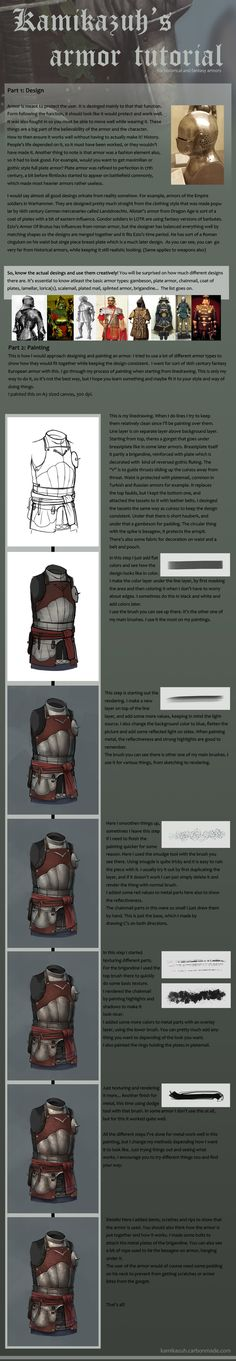 Armor Tutorial by Kamikazuh on deviantART