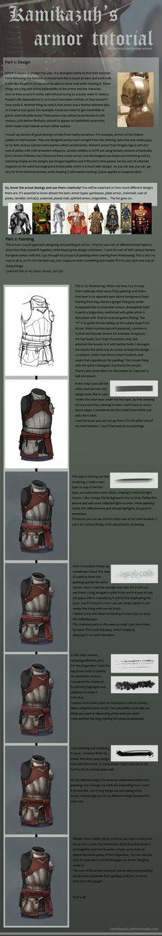 Armor Tutorial by Kamikazuh on deviantART