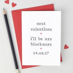 10 Unique Valentine's Cards for your Fiancé