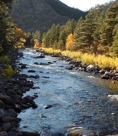 Poudre River, Colorado- rafting at Cheley Camps