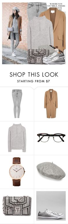 """""""2454. Blogger Style: Lovely Pepa"""" by chocolatepumma ❤ liked on Polyvore featuring Oris, Topshop, Alexander Wang, Helmut Lang, Daniel Wellington, Gucci, Proenza Schouler and Converse"""