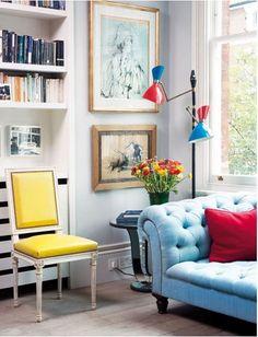 Combinatii de culori pentru un decor plin de viata