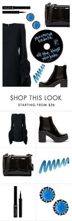"""Why not"" by sunnydays4everkh ❤ liked on Polyvore featuring Yves Saint Laurent, Prada, Giorgio Armani and Stephen Webster"
