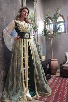 outstanding wedding Kaftan Dress Abaya Jilbab Islamic Kheleeji Sequins Arabian 4