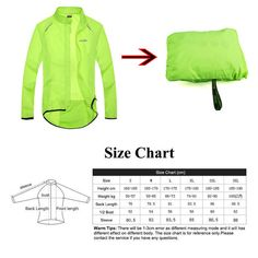 Montain Bike, Size Chart, Windbreaker, Bicycle, Football, Sleeves, Jackets, Products, Women