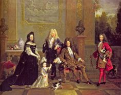 Louis XIV and His Family 1710