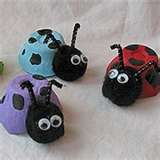 lady bug egg carton craft