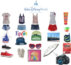 """DREAMING OF DISNEY WORLD"" by stephaniefb on Polyvore"