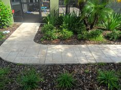 Cement Sidewalk Ideas   Concrete Designs for Patios, Floors, Pictures, Stamped Concrete ...