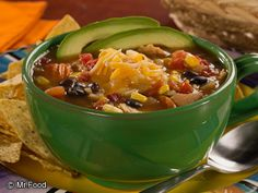 Fiesta Party Soup | mrfood.com