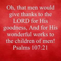 Children Of Men, Daily Word, Psalms, Lord, Thankful, Word Of The Day