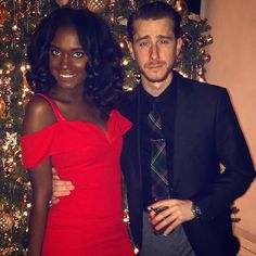 Beautiful interracial couple #love #wmbw #bwwm #swirl #Christmas #holidays #lovingday #relationshipgoals