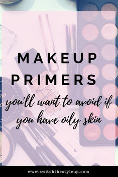 Makeup Foundation for oily skin is extremely important. Check out these four primers I will never spend money on again. Primer For Oily Skin, Foundation For Oily Skin, Diy Skin Care, Skin Care Tips, Skin Growths, Best Face Products, Makeup Products, Shrink Pores, Makeup Primer