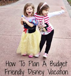 Planning a Trip to Disney World On A Budget