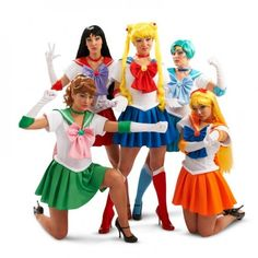 Sailor Moon! Grab the girls and go as these heroines