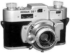 Kodak 35 - I think the lens of this camera is very different and unique