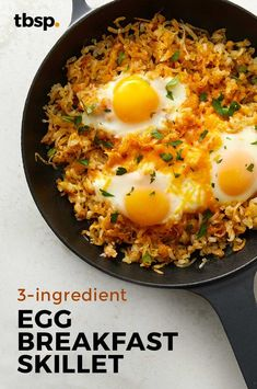 Egg Breakfast Skillet is part of Ingredient Egg Breakfast Skillet Recipe Tablespoon Com - Enjoy all of the flavors of your favorite diner with this quick breakfast skillet Deliciously simple, this savory dish makes any morning a good one! Breakfast Skillet, Breakfast Dishes, Best Breakfast, Breakfast Recipes, Breakfast Hash, Breakfast Casserole, Quick Breakfast Ideas, Breakfast Nachos, Breakfast Cooking